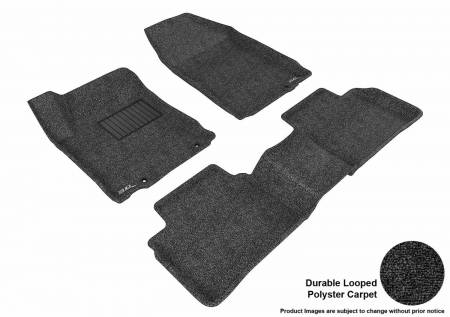 3D MAXpider (U-Ace) - 3D MAXpider FLOOR MATS NISSAN ALTIMA SEDAN 2013 CLASSIC BLACK R1 R2 (EARLY PRODUCTION - 10/2012 OR PRIOR ONLY)