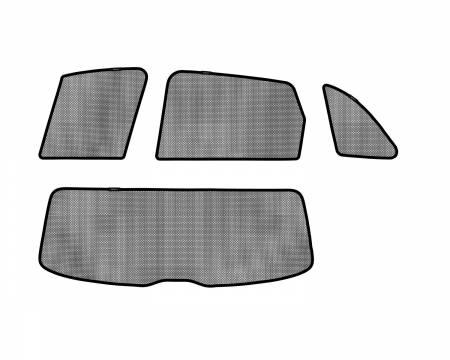 3D MAXpider (U-Ace) - 3D MAXpider AUDI Q5 2009-2017 SOLTECT SUNSHADE SIDE & REAR WINDOW