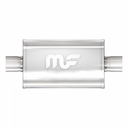 MagnaFlow Exhaust Products - MagnaFlow Muffler Mag SS 18X5X8 2.5X2.5 C/C