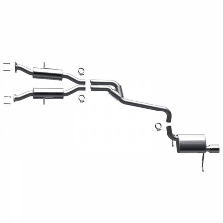 MagnaFlow Exhaust Products - MagnaFlow System Cat Back Exhaust 2011 Grand Cherokee 3.6L 6