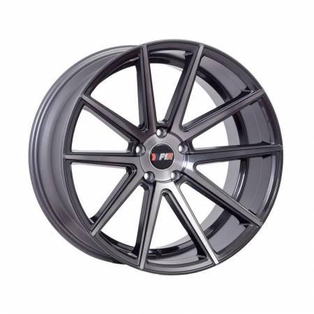 F1R Wheels - F1R Wheels Rim F27 18x8.5 5x112/114.3 ET45 Machined Gunmetal