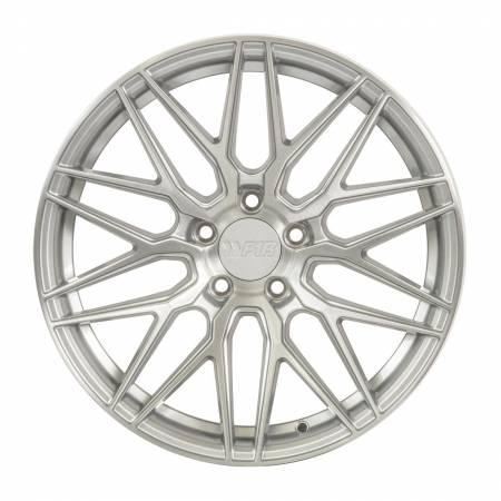 F1R Wheels - F1R Wheels Rim F103 18x8.5 5x114 ET38 Brushed Silver