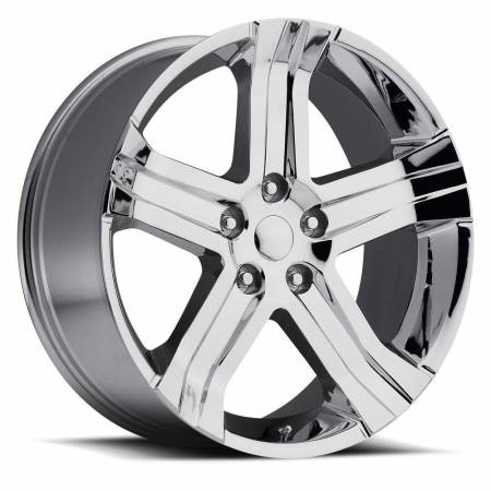 Factory Reproductions Wheels - FR Series 69 Replica Ram 1500 Wheel 22X9 5X5.5 ET20 77.8CB Chrome