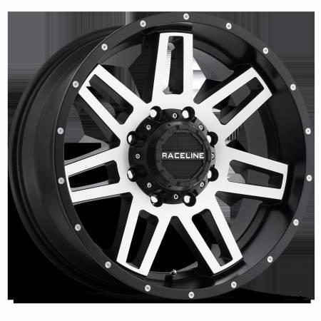 Raceline Wheels - Raceline Wheels Rim INJECTOR BMF 17X9 5X5/5X5.5 -12mm