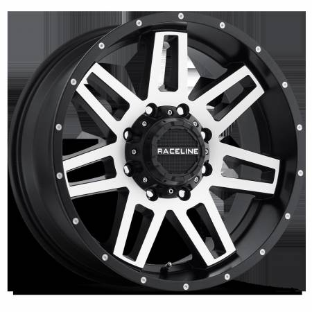 Raceline Wheels - Raceline Wheels Rim INJECTOR BMF 17X9 8X6.5 -12mm