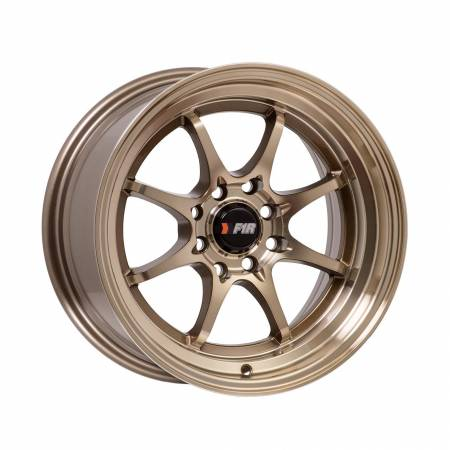 F1R Wheels - F1R Wheels Rim F03 15x8 4x100/114.3 ET25 Machined Bronze