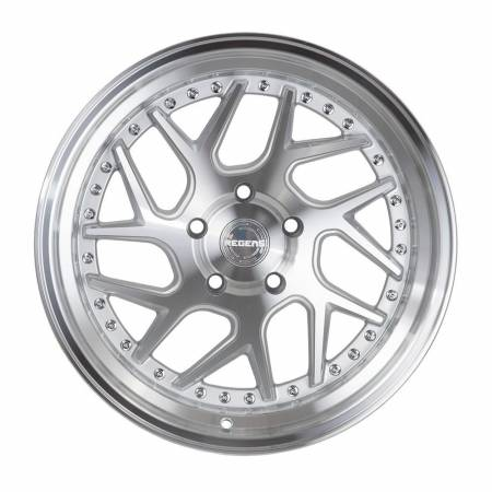 Regen5 Wheels - Regen5 Wheels Rim R33 18x8.5 5x112 40ET Machine Silver/Polish Lip
