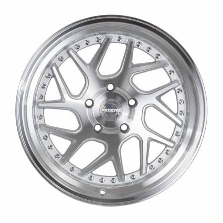 Regen5 Wheels - Regen5 Wheels Rim R33 18x8.5 5x100 35ET Machine Silver/Polish Lip