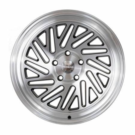 Regen5 Wheels - Regen5 Wheels Rim R30 18x8.5 5x100 36ET Machine Black