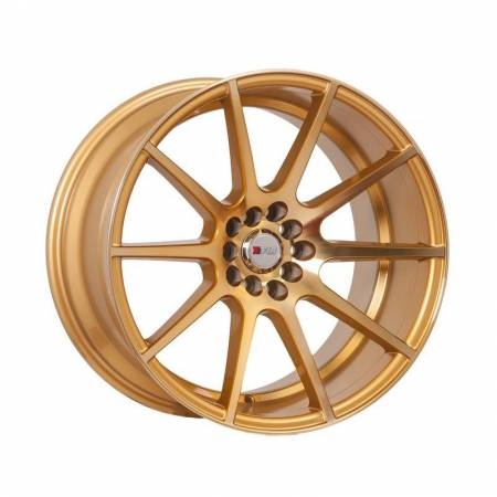 F1R Wheels - F1R Wheels Rim F17 18x10.5 5x100/114.3 ET20 Machined Gold