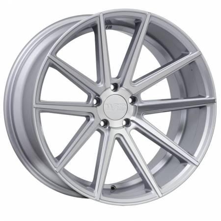 F1R Wheels - F1R Wheels Rim F27 18x9.5 5x114.3/120 ET38 Machine Silver