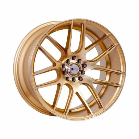 F1R Wheels - F1R Wheels Rim F18 18x9.5 5x100/114.3 ET35 Machined Gold
