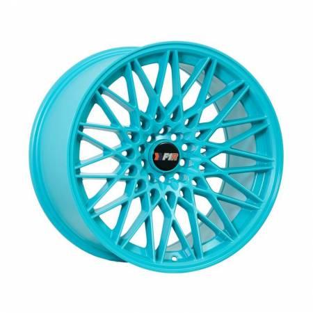 F1R Wheels - F1R Wheels Rim F23 18x9.5 5x100/114.3 ET20 Teal