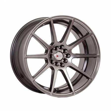 F1R Wheels - F1R Wheels Rim F17 18x9.5 5x100/114.3 ET20 Hyper Black
