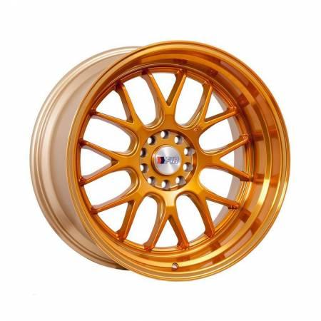 F1R Wheels - F1R Wheels Rim F21 18x10.5 5x100/114.3 ET40 Machined Gold
