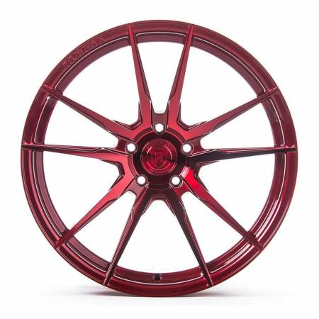 Rohana Wheels - Rohana Wheels Rim RF2 20x10 5x114 25ET Gloss Red