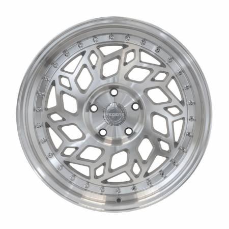 Regen5 Wheels - Regen5 Wheels Rim R32 18x9.5 5x114.3 38ET Machine Silver/Polish Lip