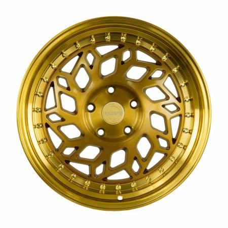 Regen5 Wheels - Regen5 Wheels Rim R32 18x8.5 5x114.3 38ET Brushed Gold