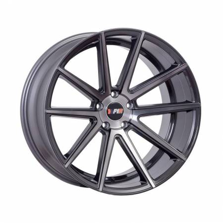 F1R Wheels - F1R Wheels Rim F27 20x10.5 5x114.3 ET20 Machined Gunmetal