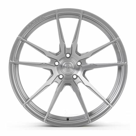 Rohana Wheels - Rohana Wheels Rim RF2 20x10 5x112 25ET Brushed Titanium