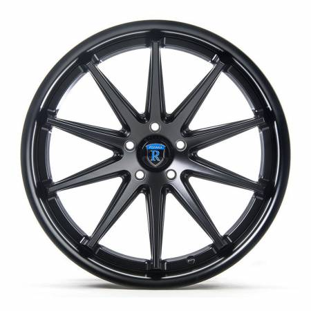 Rohana Wheels - Rohana Wheels Rim RC10 20x10 5x108 40ET Matte Black