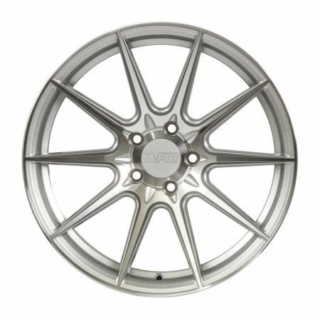F1R Wheels - F1R Wheels Rim F101 18x8.5 5x100 ET38 Machine Silver