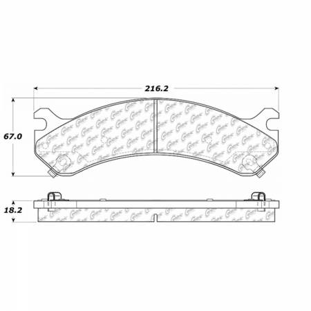 StopTech - StopTech 105.07840 Disc Brake Pad