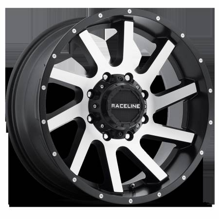 Raceline Wheels - Raceline Wheels Rim TWIST BLACK 20X9 6X5.5/6X135mm +12mm
