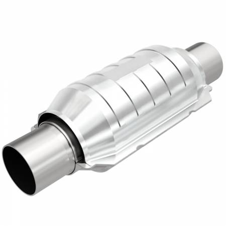 MagnaFlow Exhaust Products - MagnaFlow Catalytic Converter Universal 2.50 OBDII Rear