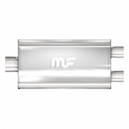 MagnaFlow Exhaust Products - MagnaFlow Muffler Mag SS 22X5X11 2.5/3.50 D/C