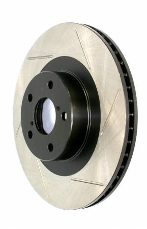 StopTech - StopTech Power Slot 10-12 Land Rover LR4 / 06-09 Range Rover Sport S/C Right Front Slotted Rotor