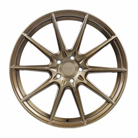 F1R Wheels - F1R Wheels Rim F101 20x10 5x114 ET38 Machine Bronze