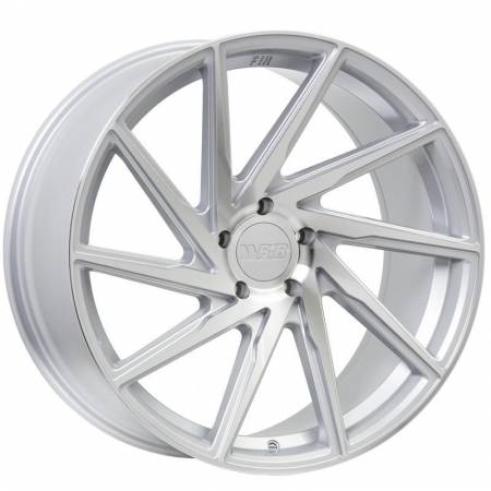 F1R Wheels - F1R Wheels Rim F29 20x8.5 5x120 ET20 Machine Silver