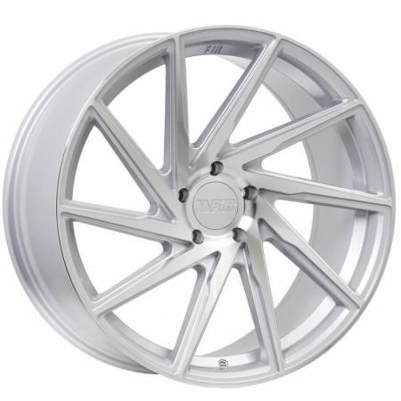 F1R Wheels - F1R Wheels Rim F29 20x8.5 5x114.3 ET35 Machine Silver