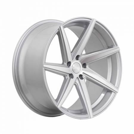 F1R Wheels - F1R Wheels Rim F35 20x8.5 5x120 ET38 Machine Silver
