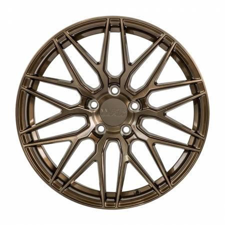 F1R Wheels - F1R Wheels Rim F103 18x9.5 5x114 ET38 Brushed Bronze