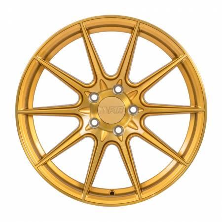 F1R Wheels - F1R Wheels Rim F101 18x9.5 5x112 ET42 Brushed Gold