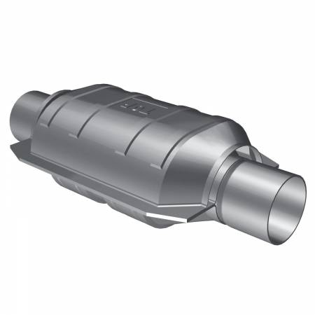 MagnaFlow Exhaust Products - MagnaFlow Catalytic Converter Universal 2.25inch OBDII Front 50State