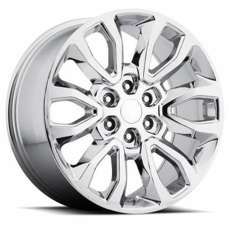 Factory Reproductions Wheels - FR Series 53 Replica Ford Raptor Wheel 20X9 6X135 ET30 87CB Chrome