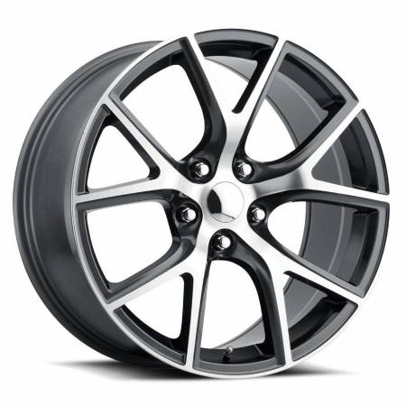 Factory Reproductions Wheels - FR Series 75 Replica Trakhawk Wheel 20X10 5X5 ET50 71.5CB Grey Machine Face