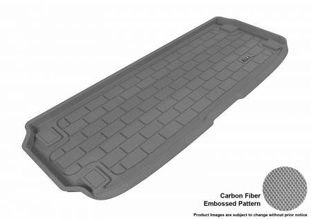 3D MAXpider (U-Ace) - 3D MAXpider NISSAN PATHFINDER 2013-2019 KAGU GRAY BEHIND 3RD ROW CARGO LINER