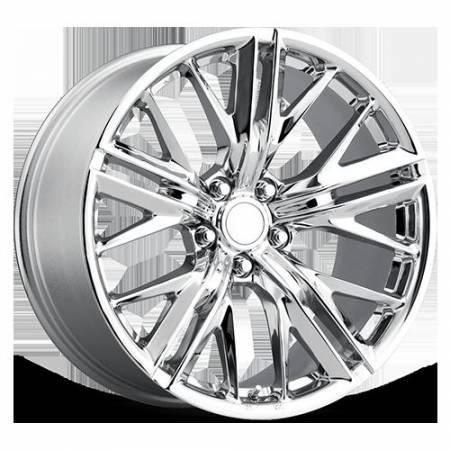 Factory Reproductions Wheels - FR Series 28 Replica Camaro Z28 Wheel 20X9 5X120 ET25 66.9CB Chrome