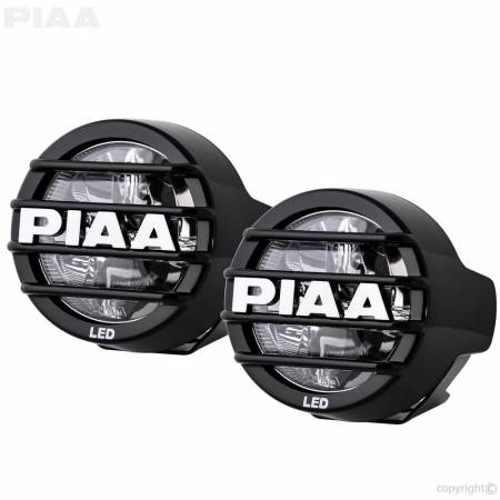 PIAA - PIAA LP530 LED White Wide Spread Fog Beam Kit