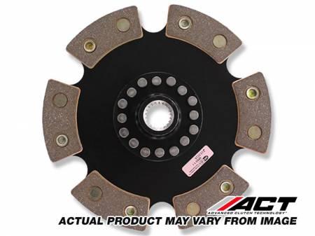 Advanced Clutch - ACT (Advanced Clutch) 6224020 6 Pad Rigid Race Disc Fits 07-09 Sky Solstice
