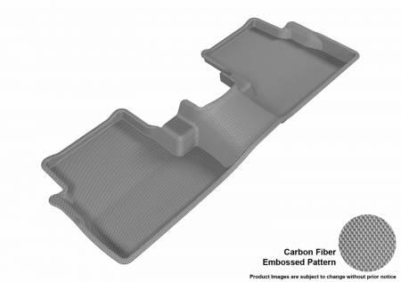 3D MAXpider (U-Ace) - 3D MAXpider FLOOR MATS LINCOLN MKC 2015-2016 KAGU GRAY R2
