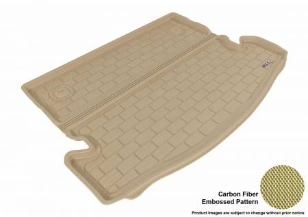 3D MAXpider (U-Ace) - 3D MAXpider NISSAN ROGUE 7-SEAT 2014-2019 KAGU TAN BEHIND 2ND ROW STOWABLE CARGO LINER (7 SEATS, BEHIND 2ND SEAT)