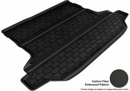 3D MAXpider (U-Ace) - 3D MAXpider SUBARU OUTBACK 2010-2014 KAGU BLACK STOWABLE CARGO LINER