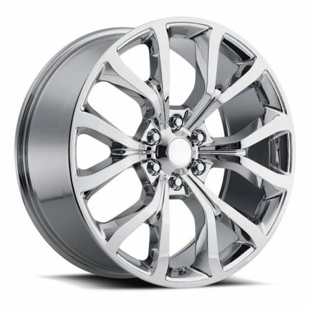 Factory Reproductions Wheels - FR Series 52 Replica Ford Expedition Wheel 22X9.5 6X135 ET44 87.1CB Chrome