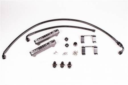 Radium Engineering - Radium Engineering 13+ Scion FR-S / Subaru BRZ OEM Configuation Fuel Rail Kit w/ PTFE Hose- Black