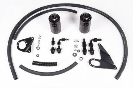 Radium Engineering - Radium Engineering 10-16 Mitsubishi Evo X Dual Catch Can Kit